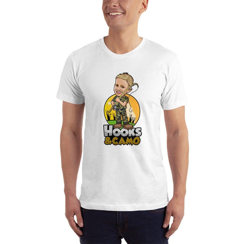 Hooks & Camo T Shirt (Adult)
