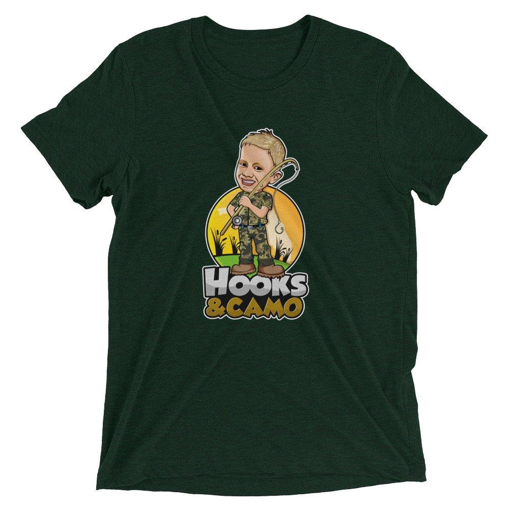 Hooks & Camo Premium T Shirt